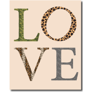 LOVE-mintás