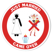 Game over - just married