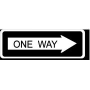 ONE WAY - nagyméretű